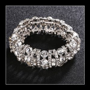 The Crystal Bangle Bracelet