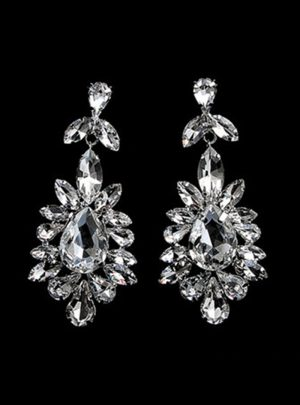 The Flower Diamond Earrings