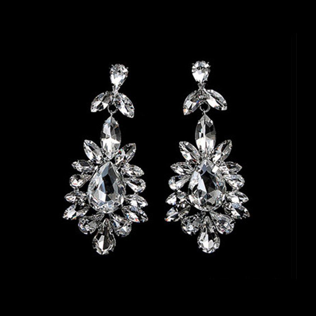 The Flower Diamond Earrings